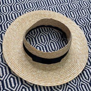 NWOTs BRIXTON • Joanna Honey Open Top Straw Hat